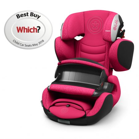 Kiddy Guardianfix 3 Berry Pink 9 Months to 12 Years Isofix Car Seat