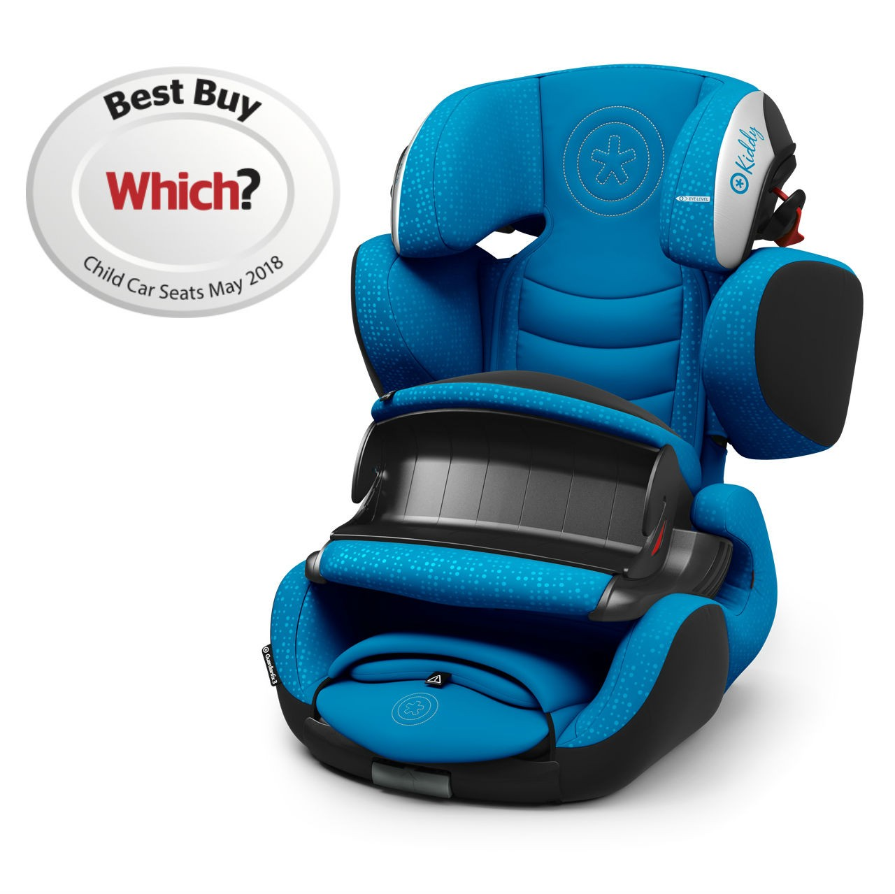 Kiddy Guardianfix 3 Summer Blue 9 Months To 12 Years Isofix Car Seat