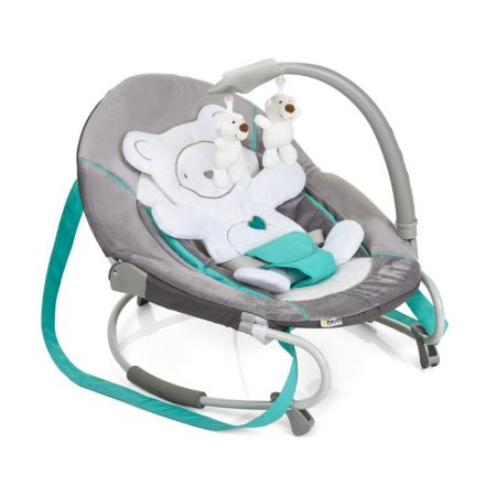 Hauck Bungee Leisure Baby Bouncer Chair - Hearts