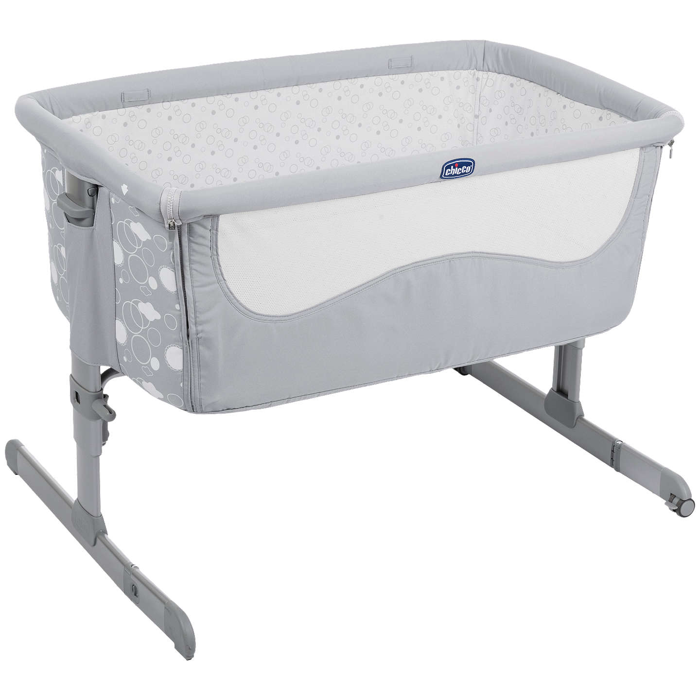 Chicco Next 2 Me Drop Side Bed Side High Low Crib Elegance
