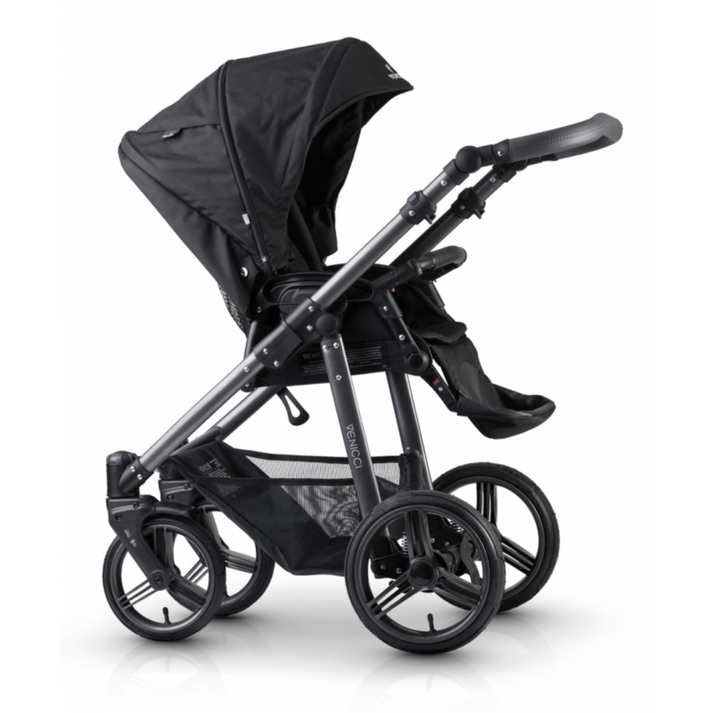 Venicci Carbo Black / Graphite Chassis 3 in 1 Travel System