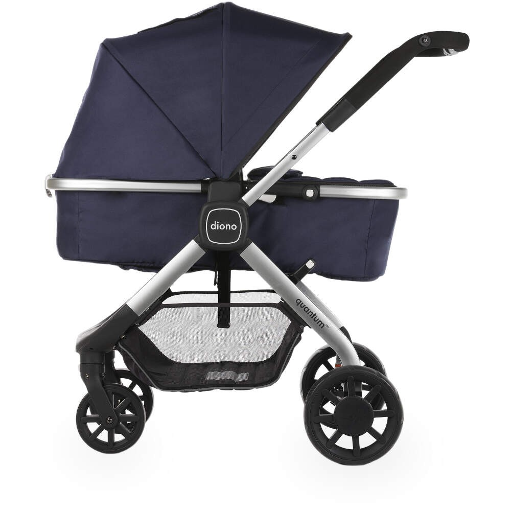 Diono Quantum Multi-Mode Pushchair Navy with FREE Accessories