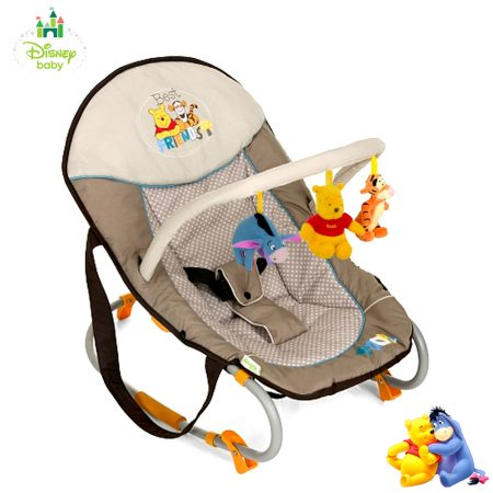 Hauck Bungee Deluxe Winnie the Pooh Bouncer - Best Friends
