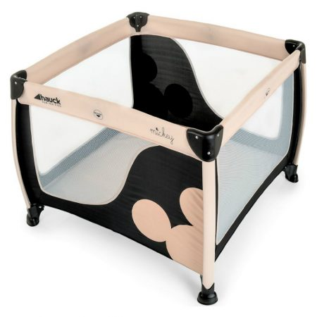 Hauck Disney Play n Relax Square Travel Cot / Playpen Micky Mouse