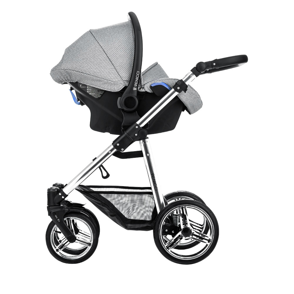 Venicci Sparkle Pram Grey Diamond Special Edition 3 in 1 Package