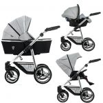Venicci Silver Diamond Sparkle Pram Pushchair Car Seat package