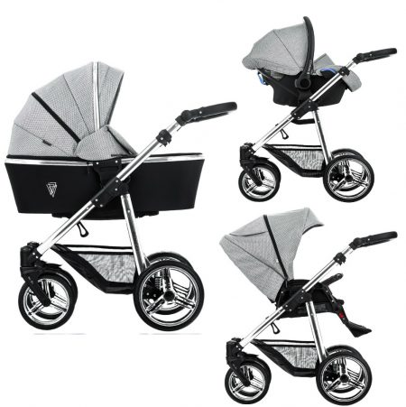 Venicci Sparkle Pram Grey Diamond Special Edition 3 in 1