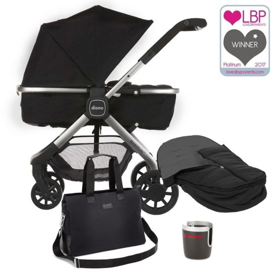 Diono Quantum Multi Mode Pushchair With Free Accessories