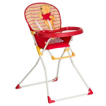 Hauck Mac Winnie the Pooh Highchair - Spring Brights Red