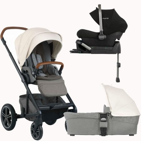 Nuna Mixx Pipa Lite 3in1 Travel System Package - Birch