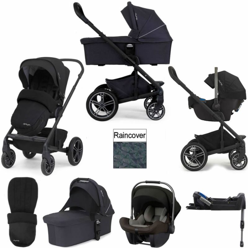 Nuna Mixx 2 Pipa Lite 3in1 Travel System Black 2018 Package