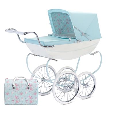Silver Cross Special Edition Dolls Pram - Sweet Pea - FREE Tray