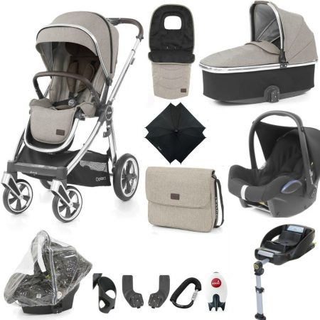 Babystyle Oyster 3 Ultimate 12 Piece Bundle - Maxi Cosi & Base