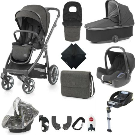 Babystyle Oyster 3 Pepper – Ultimate 12 Piece Bundle + Maxi Cosi
