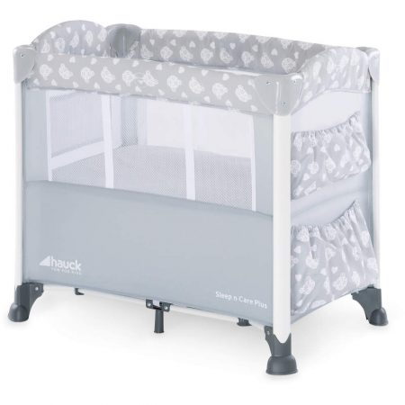 Hauck Sleep n Care Plus - Teddy Grey