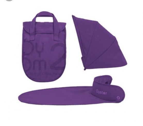 Babystyle Purple Hoodpack for Carrycot