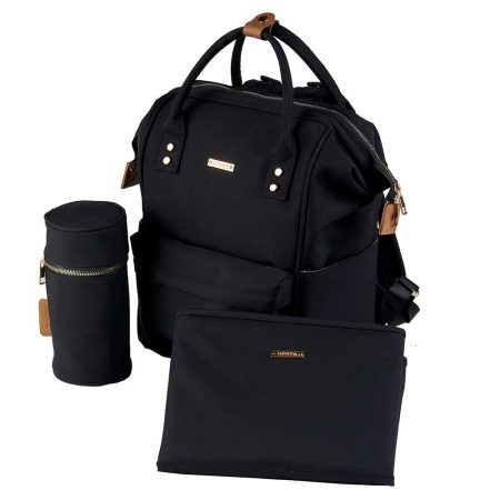 BabaBing Mani Back Pack Changing Bag - Black