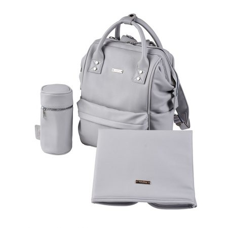 BabaBing Mani Back Pack Changing Bag - Dove Grey
