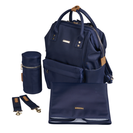 BabaBing Mani Back Pack Changing Bag - Navy