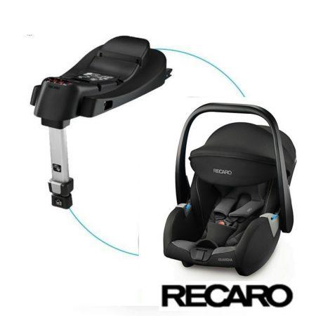 Recaro Guardia Hero Carbon Black Car Seat and Isofix Base 0 - 13 kg