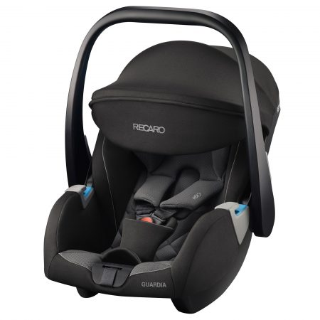 Recaro Guardia Hero Carrier Car Seat - Carbon Black 0 - 13 kg