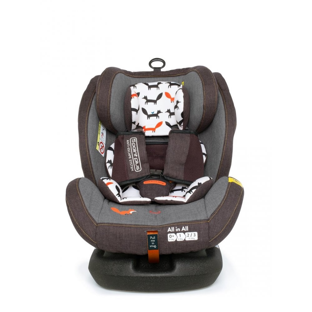 Cosatto All in All Car Seat - Group 0+/1/2/3 - Mister Fox