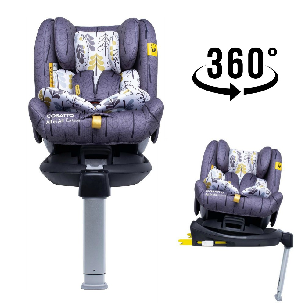 cosatto all in all rotate 360 spin car seat