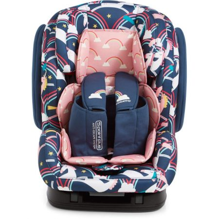 Cosatto Hug Isofix Car Seat Group 1/2/3 - Magic unicorns