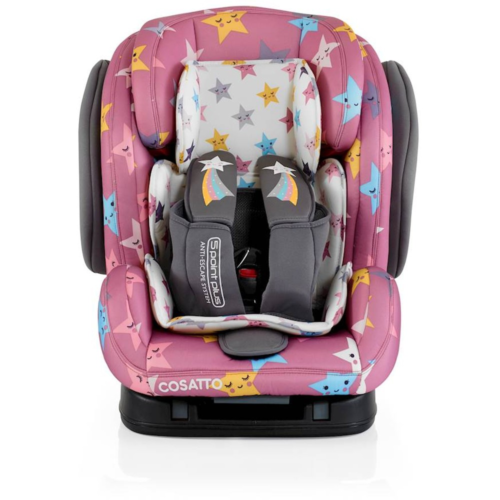 cosatto hug isofix happy stars group 23