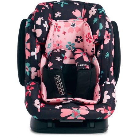 Cosatto Hug Isofix Car Seat Group 1/2/3 - Paper Petals