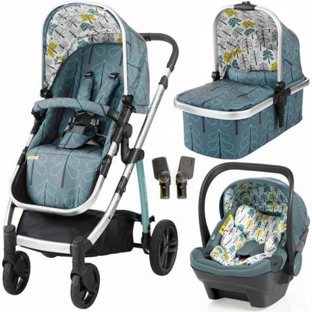 Cosatto Wow Travel System with iSize Dock Carseat - Fjord