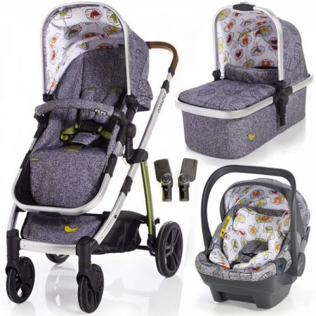 Cosatto Wow Travel System with iSize Dock Carseat - Dawn Chrous