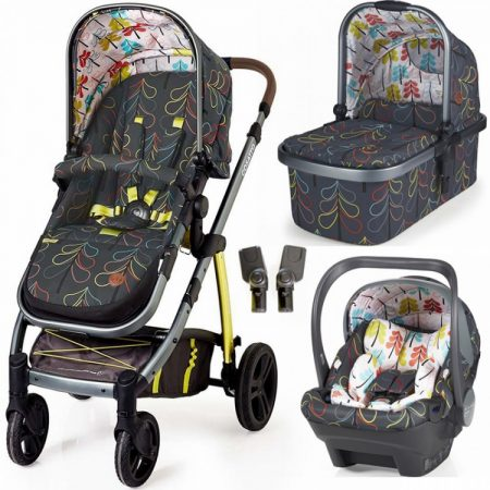 Cosatto Wow Travel System with iSize Dock Carseat - Nordick