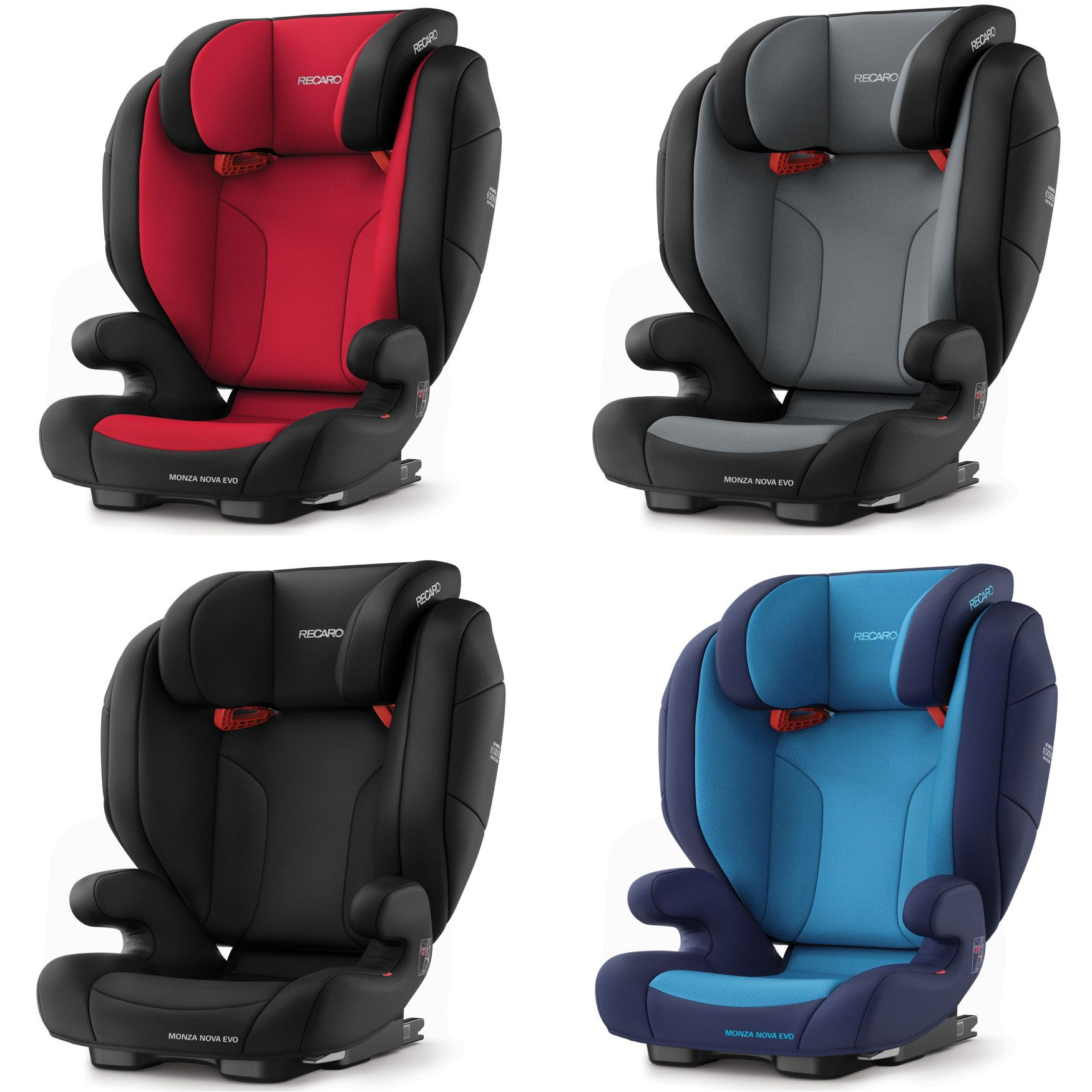 recaro monza nova evo seatfix performance black group 2 3. Black Bedroom Furniture Sets. Home Design Ideas