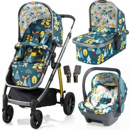 Cosatto Wow Travel System with iSize Dock Carseat - Fox Tale