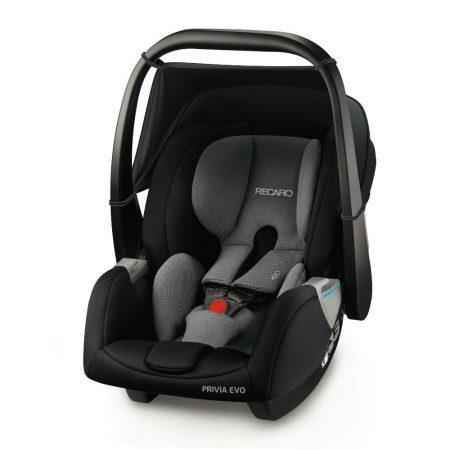 Recaro Privia Evo Carrier Car Seat - Carbon Black 0 - 13 kg