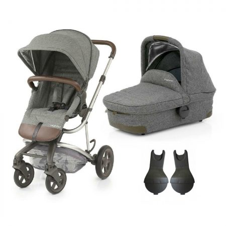 Babystyle Hybrid Edge Pushchair & Carrycot in Stonewash - from birth