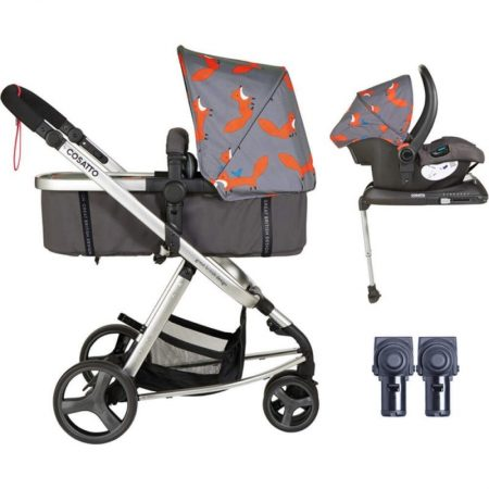 Cosatto Giggle Mix Travel System - Mister Fox