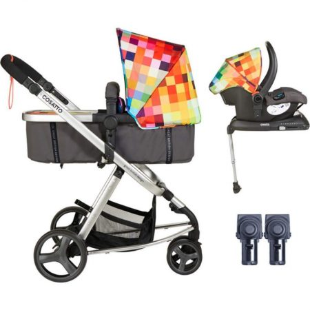 Cosatto Giggle Mix Travel System - Pixelate