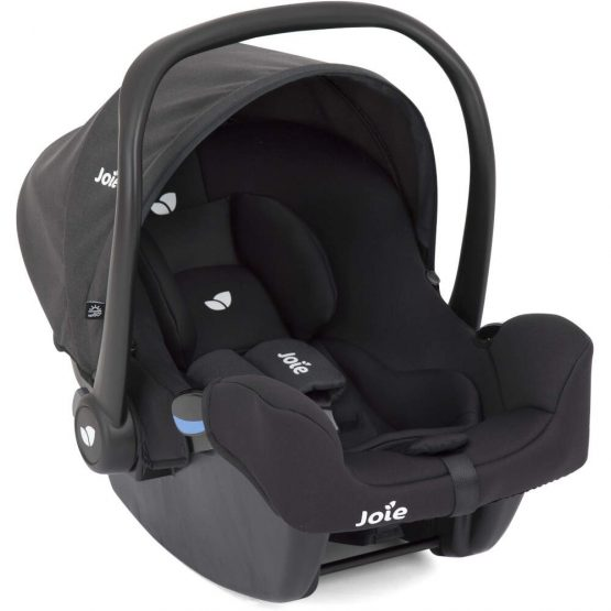 joie isnug isize car seat from birth coal