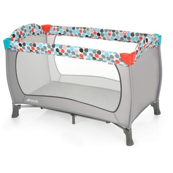 fisher price Easy-Traveler-Sleep-n-Play_Gumball-Grey-travel cot