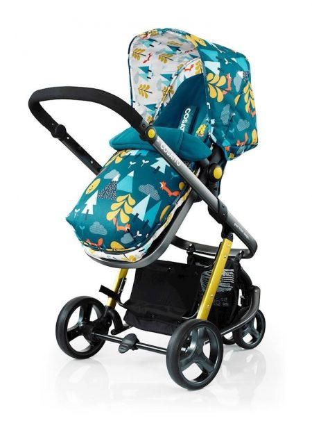 Cosatto Giggle 2 Travel System - Port Car Seat - Fox Tale
