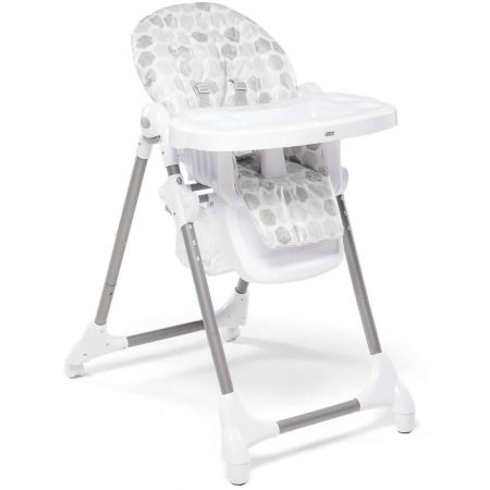Mamas & Papas Snax Low / Highchair With Removable Tray - Grey Hexagons