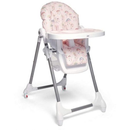 Mamas & Papas Snax Low / Highchair With Removable Tray - Rainbows