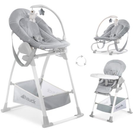 Hauck Sit n Relax Stretch Grey - Highchair / Bouncer