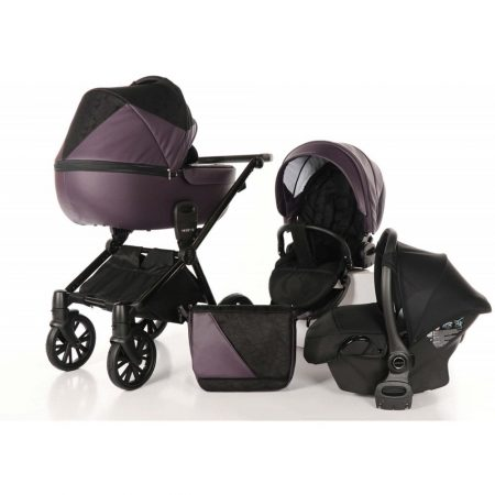Venicci Insevio Synergy Plum Black 3 in 1 Travel System
