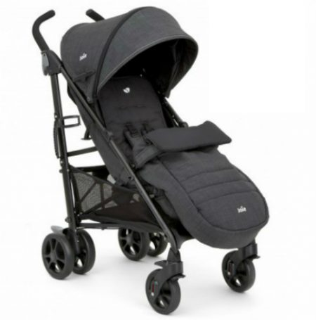 Joie Brisk LX Stroller Pavement - Small Folding Pushchair Buggy