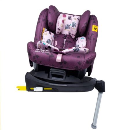Cosatto All in All Rotate Group 0+/1/2/3 Car Seat Fairy Garden
