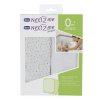 Chicco-Crib-Set-2-Fitted-Sheets-Light-Grey