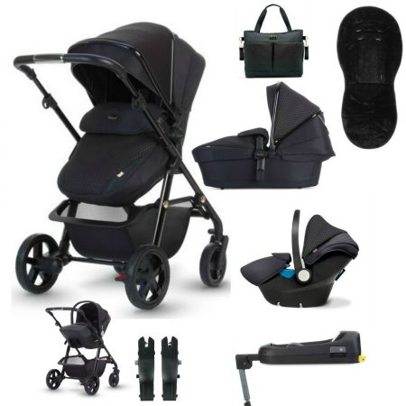 NEW Silver Cross Pioneer Eclipse Special Edition Bundle - Car Seat, Base